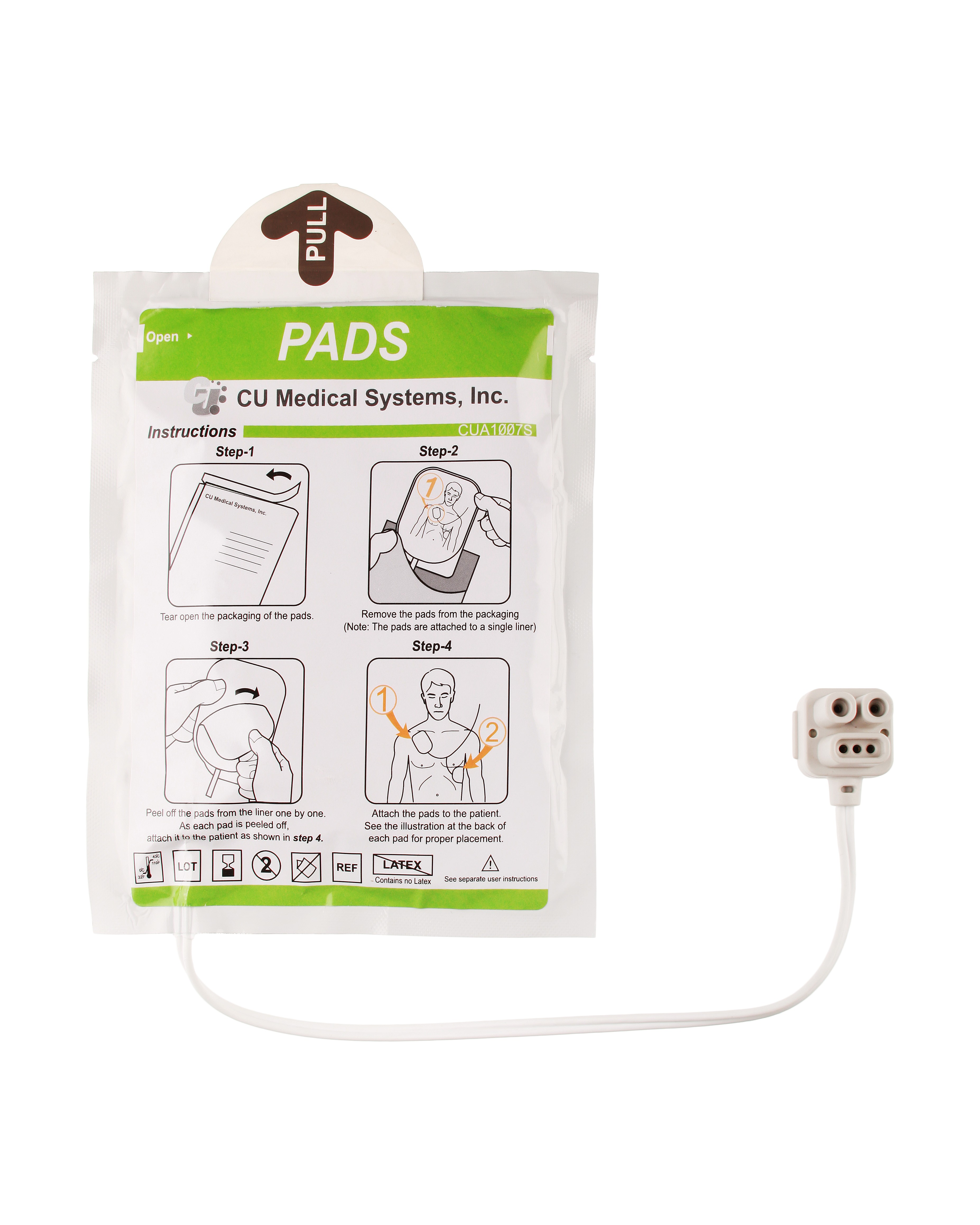 Electrodos IPAD CU-SP1
